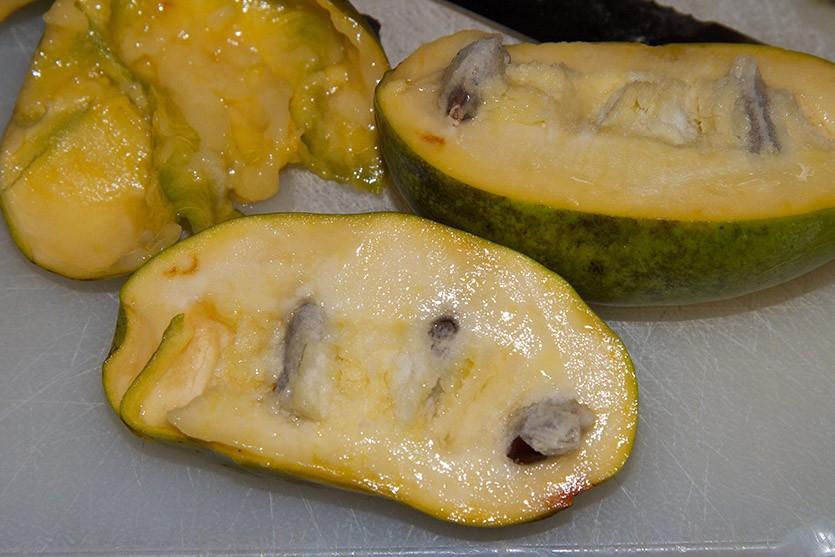 Азимина плоды