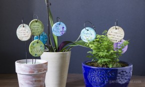How to make garden charms